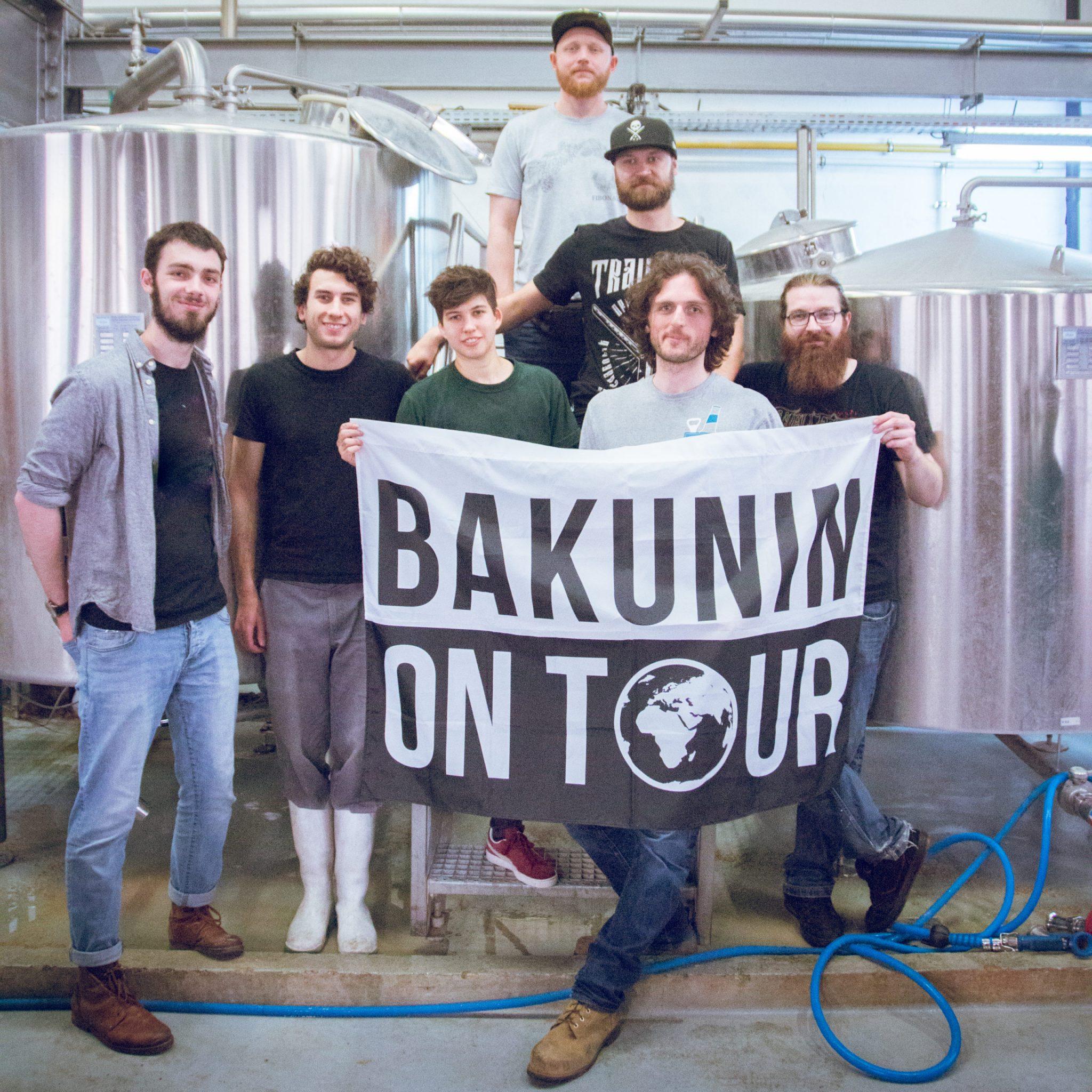 l'équipe Bakunin et BAPBAP pour le brassage de la Gose