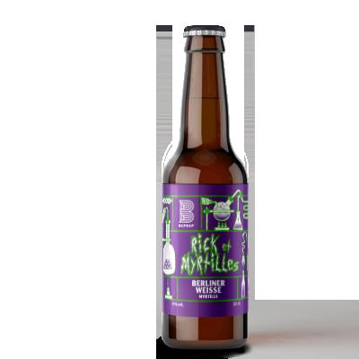 rick&myrtilles biere bapbap
